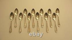 74-Pieces Alvin MARYLAND Sterling Silver Flatware Set, Service for 12 + Servers
