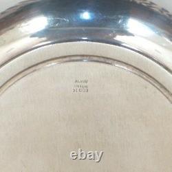 ALVIN Sterling Silver Deep 10 Fruit Bowl # D 1003, 335 grams
