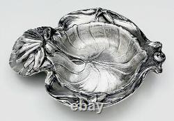 ALVIN Sterling WATER LILY Art Nouveau Bowl