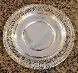 ALVIN s135 Ornate Sterling Silver 9 inch Bowl 189.9 grams