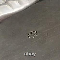 Alvin 7 1/4 Sterling Silver Bowl DAFFODILS Buttercups #1050 Hallmark 144 grams