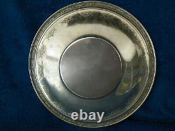 Alvin 9'' Diameter Ornate Sterling Silver Bowl S-128