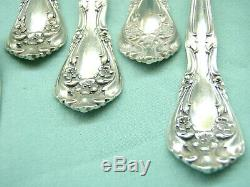 Alvin CHATEAU ROSE Sterling Silver Flatware 6 Place Setting-36 pieces PAT. 1940