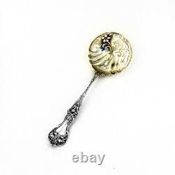 Alvin Majestic Pea Spoon Pierced Bowl Sterling Silver Pat 1900