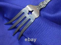 Alvin Orange Blossom Sterling Silver Small Chipped Beef Fork Excellent Cond M