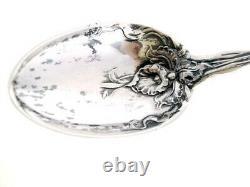 Alvin Raphael Sterling Spoon Victorian Pin Brooch Art Nouveau Nude Woman 1902