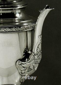Alvin Sterling Coffee Pot c1920 ROMANTIQUE