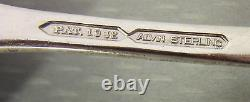 Alvin Sterling Silver 1932 BRIDAL BOUQUET FORKS SET 4 salad dessert 6.5 146g