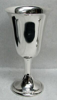 Alvin Sterling Silver 6 1/2 Goblet #s249