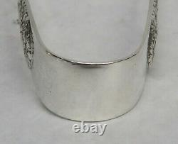 Alvin Sterling Silver Bridal Bouquet 6 3/4 Claw Tip Ice Tongs