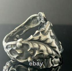 Alvin Sterling Silver Spoon Ring Size 10.5