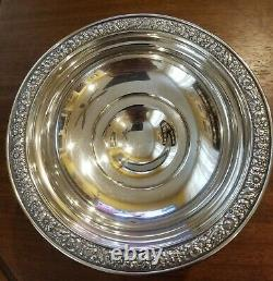 Antique Alvin Sterling Silver 6 Footed Compote