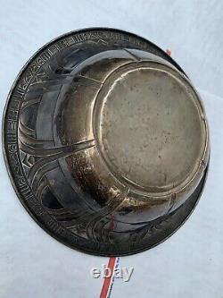 Antique Alvin Sterling Silver 9in Art Deco Bowl -7.5 oz Sterling