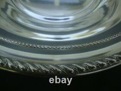 Antique Sterling Silver Round Vegetable Serving Bowl ALVIN S84 9 234 grms Solid