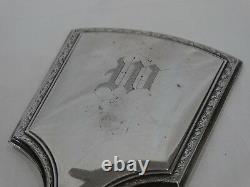 Antique/vintage Alvin Sterling Silver Dresser Set 5pc Set W Monogram