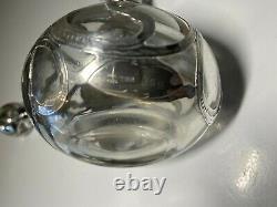 Art Noveau Sterling Silver Overlay Perfume Bottle Alvin MFG Fine 999/1000 Silver