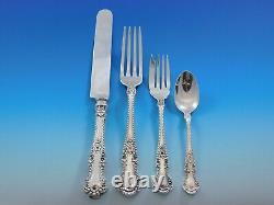 Cambridge by Gorham Alvin Sterling Silver Flatware Service for 8 Set 106 Pieces