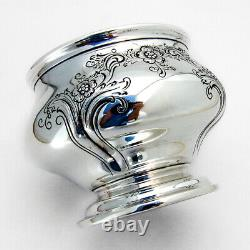 Chateau Rose Waste Bowl Alvin Sterling Silver 1940