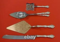Chateau Rose by Alvin Sterling Silver Dessert Serving Set 4pc Custom Made