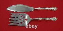 Chateau Rose by Alvin Sterling Silver Fish Serving Set 2 Piece Custom Made HHWS