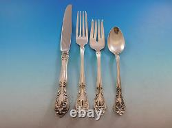 Chateau Rose by Alvin Sterling Silver Flatware Set for 18 Service 121 Pieces