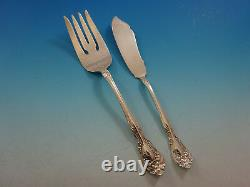 Chateau Rose by Alvin Sterling Silver Flatware Set for 8 Service 60 Pieces