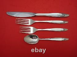 Eternal Rose by Alvin Sterling Silver Regular Place Setting(s) 4pc