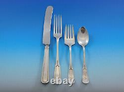 Florence Nightingale by Alvin Sterling Silver Flatware Set 76 pcs S Monogram