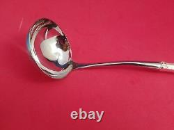 French Scroll Sterling Silver Handle Soup Ladle Custom Made