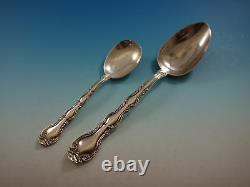 French Scroll by Alvin Sterling Silver Flatware Set For 8 Service 52 Pieces