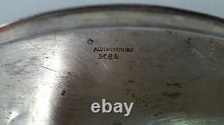 Genuine Alvin Sterling Silver #M64 Serving Tray 206g Tray Silverware 60