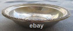 International Sterling Silver Prelude Round 6 Inch Bowl 106 grams