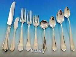 Maryland by Alvin Sterling Silver Flatware Set for 12 Service 111 Pieces Dinner