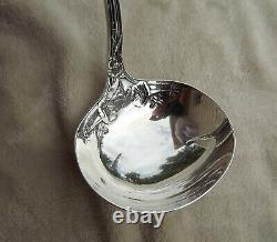 Morning Glory by Alvin 11 1/2 large all Sterling ladle mono H Nice