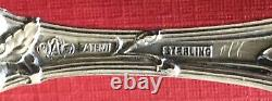 Old Orange Blossom by Alvin 7 1/8 Sterling Silver Master Butter Knife NO Mono