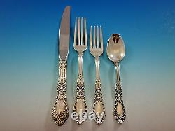 Prince Eugene by Alvin Sterling Silver Flatware Set for 8 Service 32 pieces
