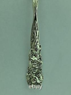 Raphael By Alvin Sterling Silver Tomato Server Spoon 8 1/4