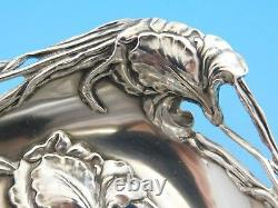 Raphael by Alvin Sterling Silver BonBonniere Spoon 10 Rare Large Bowl with Irises