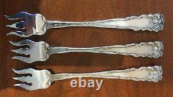 Raphael by Alvin Sterling Silver Cocktail Fork 5 1/2 Art Nouveau No Monogram