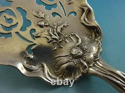 Raphael by Alvin Sterling Silver Tomato Server Pierced with Rose 8 Figural