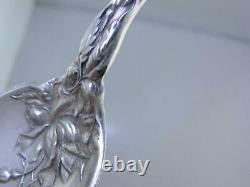 Rare Sterling ALVIN Teaspoon with decorated bowl BRIDAL ROSE 1903