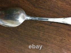 Set of 5 Alvin Pirouette Sterling Silver 4-3/8 Demitasse Spoons