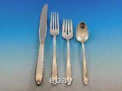Southern Charm by Alvin Sterling Silver Flatware Set for 12 Service 48 pieces