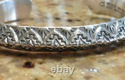 Sterling Silver Alvin Toadacheene Cuff Bracelet