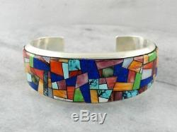 Stunning Alvin Yellowhorse Navajo Cuff Bracelet