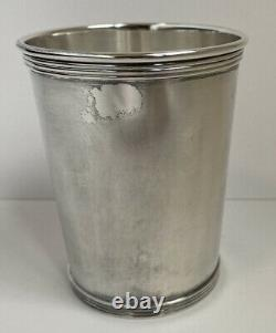 Vintage Alvin S251 Sterling Silver Mint Julep Cup tumbler with MONO 112 grams
