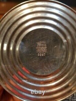 Vtg Pair Alvin #S237 Sterling Silver Candlesticks 8 687g (Wtd)