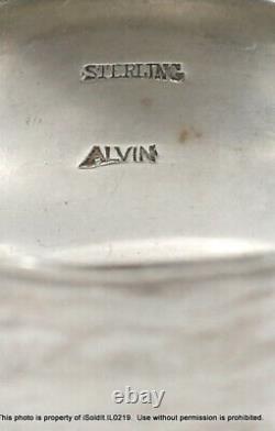 13-pc Sterling Silver Spoons Monogrammed Bigelow Kennard & Napkin Ring 8,4-oz
