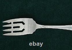 (6) Alvin Sterling Salad Fork 5 7/8 Pouces, Maryland 1910 Design Monogrammed K