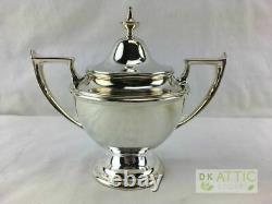 Alvin Antique Sterling Silver Coffee / Tea Set 2 Pièces 493.6 Grammes